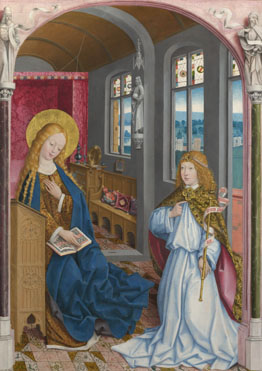 Master of Liesborn: 'The Annunciation'