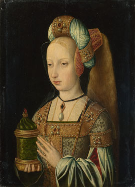 Workshop of the Master of the Magdalen Legend: 'The Magdalen'