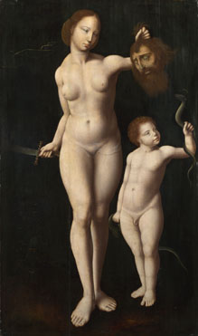 Master of the Mansi Magdalen: 'Judith and the Infant Hercules'