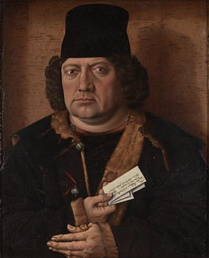 Master of the Mornauer Portrait, 'Portrait of Alexander Mornauer'