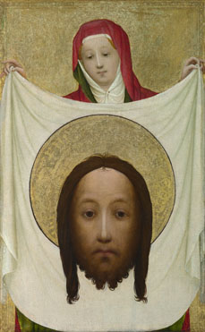 Master of Saint Veronica: 'Saint Veronica with the Sudarium'