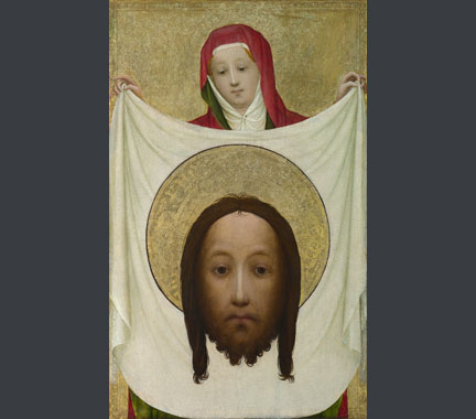 Master of Saint Veronica, 'Saint Veronica with the Sudarium', about 1420