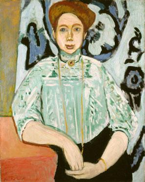 Henri Matisse: 'Portrait of Greta Moll'