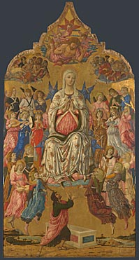 Matteo di Giovanni: 'The Assumption of the Virgin'