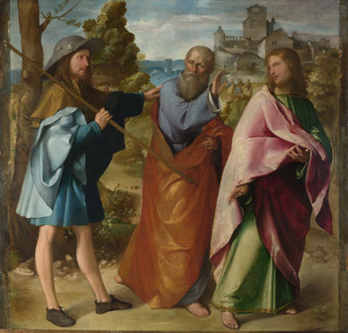Altobello Melone: 'The Road to Emmaus'