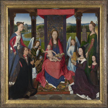 Hans Memling: 'The Donne Triptych'