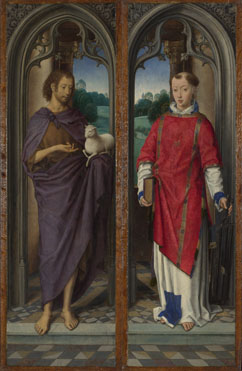 Hans Memling: 'Two Panels from a Triptych'