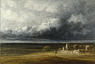 Stormy Landscape with Ruins on a Plain