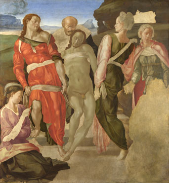 Michelangelo: 'The Entombment'