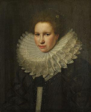 Michiel van Miereveld: 'Portrait of a Woman'