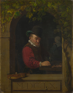 After Frans van Mieris the Elder: 'An Old Fiddler'
