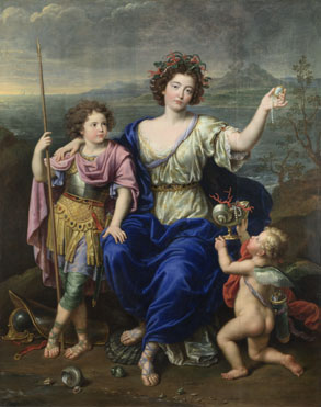 Pierre Mignard: 'The Marquise de Seignelay and Two of her Sons'