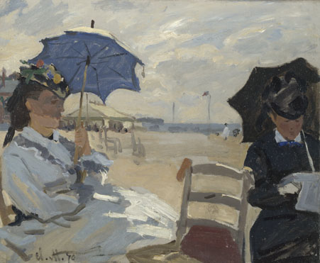 Claude-Oscar Monet: 'The Beach at Trouville'