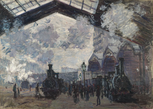 Claude-Oscar Monet: 'The Gare St-Lazare'