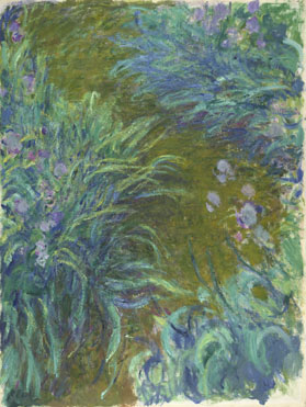 Claude-Oscar Monet: 'Irises'