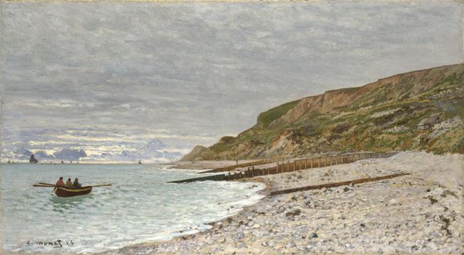 Claude-Oscar Monet: 'La Pointe de la Hève, Sainte-Adresse'