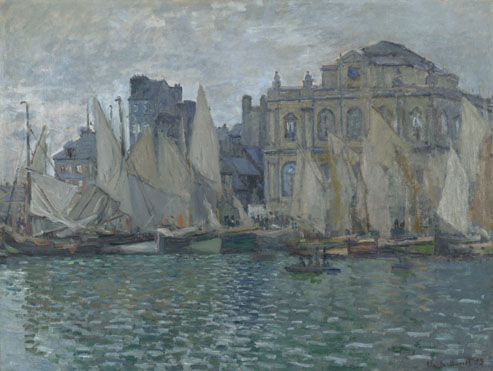 Claude-Oscar Monet: 'The Museum at Le Havre'