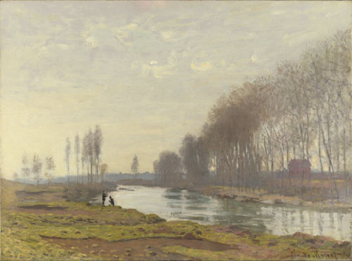 Claude-Oscar Monet: 'The Petit Bras of the Seine at Argenteuil'