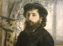 Pierre Auguste Renoir, 'Portrait of Claude Monet', Musée d'Orsay, Paris © RMN (Musée d'Orsay) / Jean-Gilles Berizzi