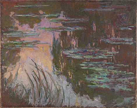 Claude-Oscar Monet: 'Water-Lilies, Setting Sun'