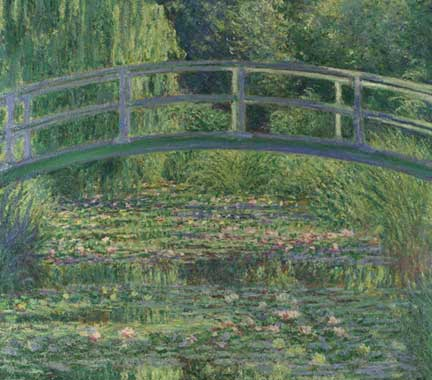 Monet, 'The Water-Lily Pond', 1899