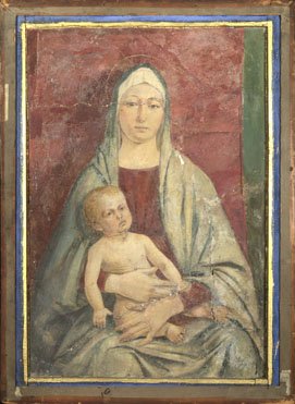 Attributed to Bartolomeo Montagna: 'The Virgin and Child'