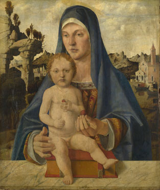 Bartolomeo Montagna: 'The Virgin and Child'