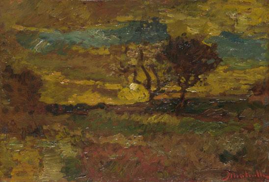 Adolphe Monticelli: 'Sunrise'