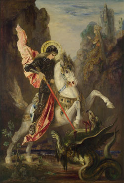 Gustave Moreau: 'Saint George and the Dragon'