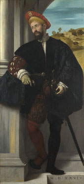 Moretto da Brescia: 'Portrait of a Man'