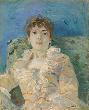 Berthe Morisot: 'Girl on a Divan'