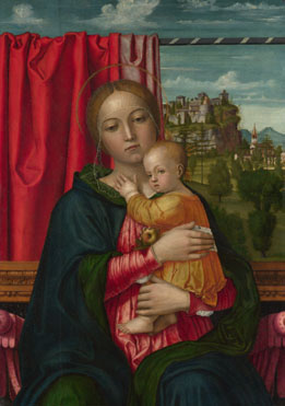 Francesco Morone: 'The Virgin and Child'