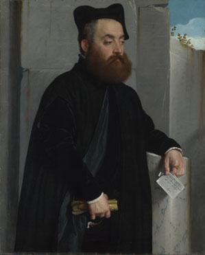 Giovanni Battista Moroni: 'Canon Ludovico di Terzi'