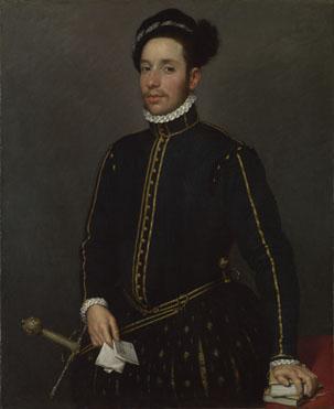 Giovanni Battista Moroni: 'Portrait of a Gentleman ('Il Gentile Cavaliere')'