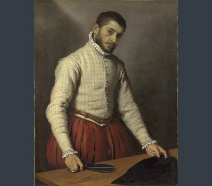 Moroni, 'The Tailor', about 1565-70