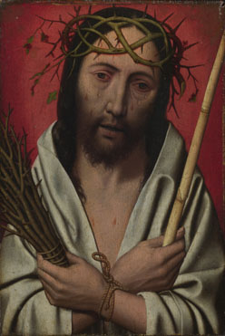 Style of Jan Mostaert: 'Christ Crowned with Thorns'