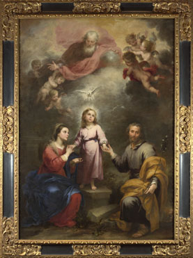 Bartolomé Esteban Murillo: 'The Heavenly and Earthly Trinities'