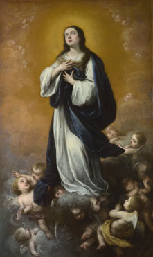 Bartolomé Esteban Murillo and studio: 'The Immaculate Conception of the Virgin'