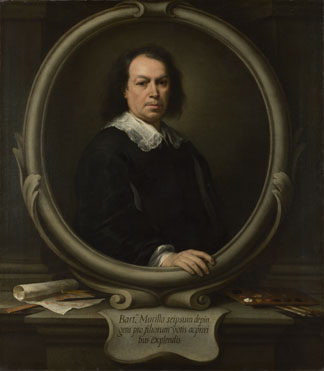 Bartolomé Esteban Murillo: 'Self Portrait'