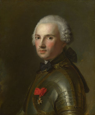 Jean-Marc Nattier: 'Portrait of a Man in Armour'