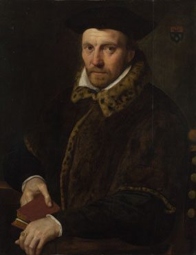 Netherlandish: 'Portrait of Andreas (?) Boulengier'