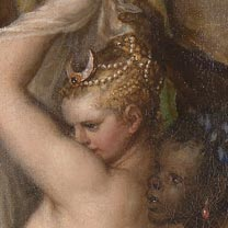 News - Detail from Titian, 'Diana and Actaeon', 1556-59