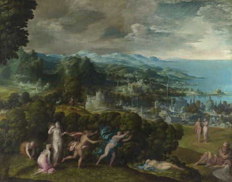 Niccolò dell'Abate: 'The Death of Eurydice'