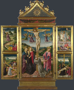 Niccolo di Liberatore: 'Christ on the Cross, and Other Scenes'