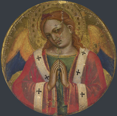 Attributed to Niccolo di Pietro Gerini: 'Frame Roundel'