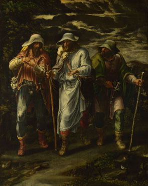 Lelio Orsi: 'The Walk to Emmaus'