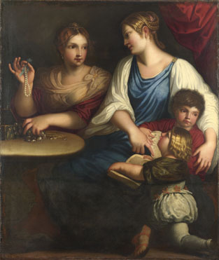 After Padovanino: 'Cornelia and her Sons'