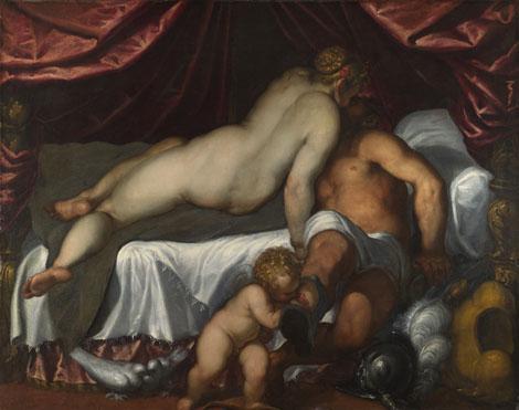 Palma Giovane: 'Mars and Venus'