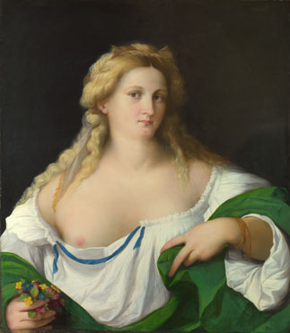 Palma Vecchio: 'A Blonde Woman'