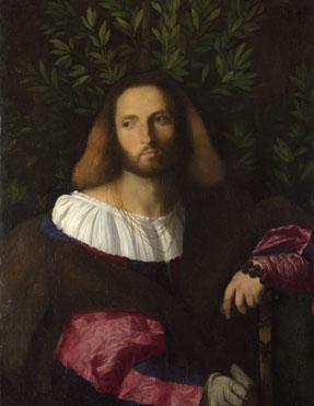 Palma Vecchio: 'Portrait of a Poet (Ariosto?)'